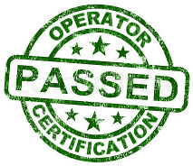 pass operator certification exam